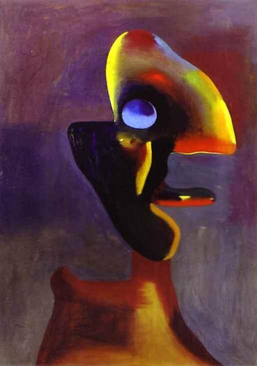 Joan Miró. Head of a Man